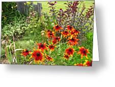 Garden Glimpse Greeting Card