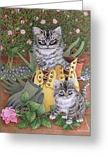 Garden Helpers  Greeting Card
