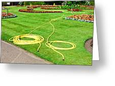 Garden Hosepipes Greeting Card