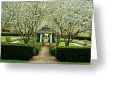 Garden In Full Bloom Greeting Card