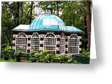 Garden Kiosk At Summer Palace Greeting Card