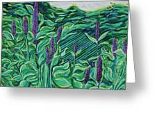 Garden Mint Greeting Card