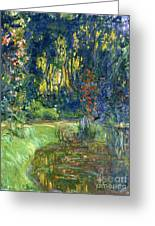 Garden Of Giverny Greeting Card