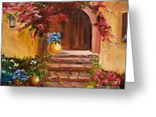 Garden Of Serenity Greeting Card