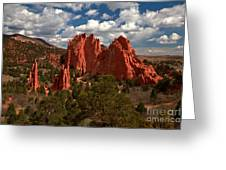 Garden Of The Gods Afternoon Greeting Card