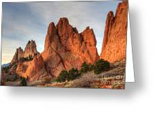 Garden Of The Gods Colorado Greeting Card