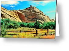 Garden Of The God's-colorado Greeting Card