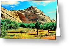 Garden Of The God's-colorado Greeting Card