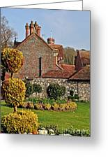 Garden Of Winchester Greeting Card
