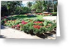 Garden Park Greeting Card