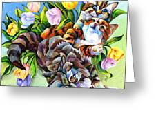 Garden Party Greeting Card