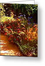 Garden Pathway Greeting Card