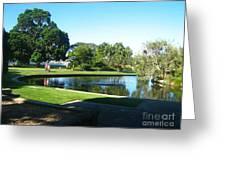 Sydney Botanical Garden Lake Greeting Card