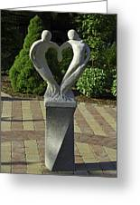 Garden Sculpture Greeting Card