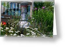 Garden Sentry Greeting Card