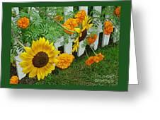 Garden Show-offs Greeting Card