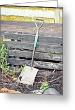 Garden Spade Greeting Card