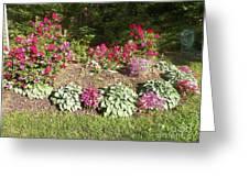 Garden Splender Greeting Card