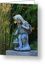 Garden Statuary Greeting Card