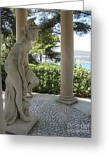 Garden Statue I Greeting Card