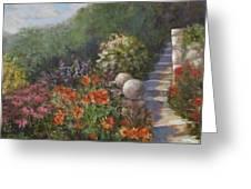 Garden Steps Greeting Card