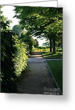 Garden Stroll Greeting Card