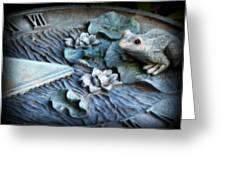 Garden Sundial Greeting Card