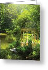 Garden - The Temple Of Love Greeting Card