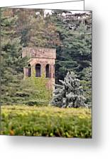 Garden Tower At Longwood Gardens - Delaware Greeting Card