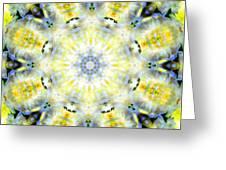Gardenia Mandala Greeting Card