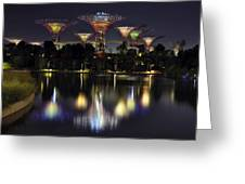 Gardens By The Bay Supertree Grove Greeting Card