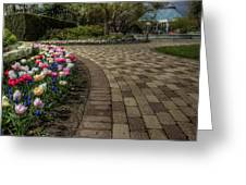 Gardens In The Park Greeting Card