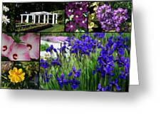 Gardens Of Beauty Greeting Card