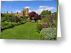 Gardens Of Sudeley Castle In The Cotswolds Greeting Card