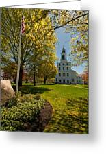 Gardens Of The First Parish Greeting Card