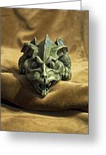 Gargoyle Or Grotesque Greeting Card