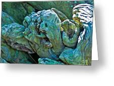 Gargoyles In Mangrove Greeting Card