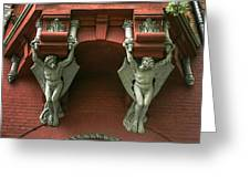 Gargoyles Greeting Card