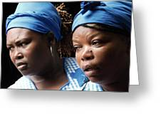 Garifuna Ladies Greeting Card