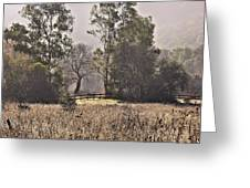 Garland Ranch In The Carmel Valley Greeting Card