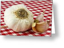 Garlic Greeting Card by Blink Images