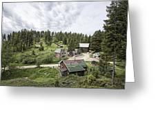 Garnet Ghost Town - Montana Greeting Card