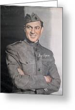 Gary Cooper Repro Greeting Card