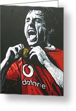 Gary Neville - Manchester United Fc Greeting Card