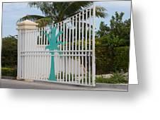 Gate 1 Greeting Card