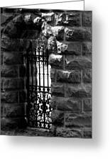 Gate To Grave  Greeting Card
