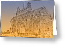 Gate Way Of India Greeting Card