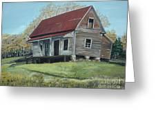Gates Chapel - Ellijay Ga - Old Homestead Greeting Card