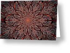 Gates Of Fire Greeting Card