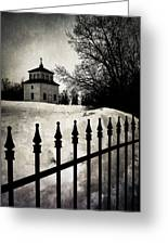Gates Of Grace  Greeting Card